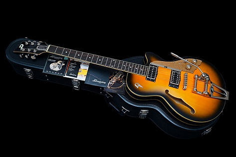 Duesenberg Starplayer TV with Tremolo System Vintage Burst 2012