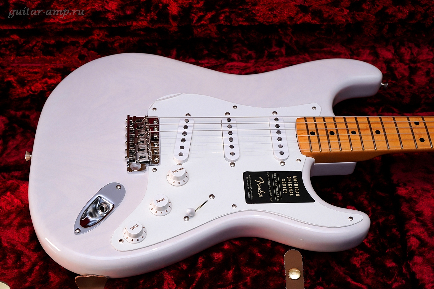 Fender American Original '50s Stratocaster White Blonde 2018 New