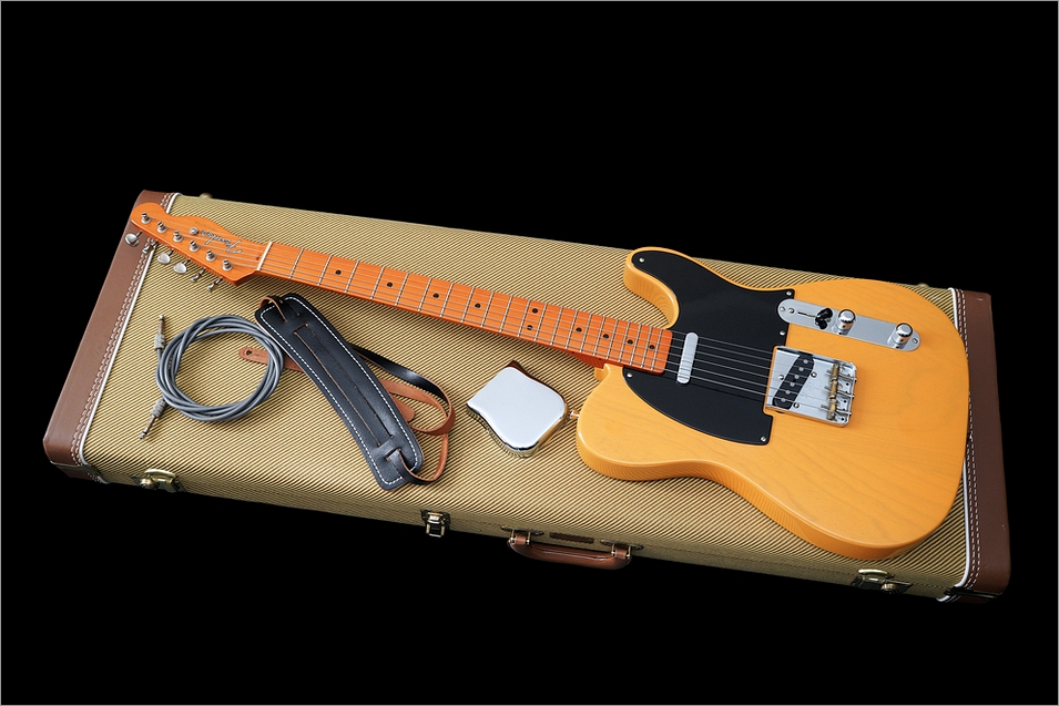 Fender American Vintage Telecaster 1952 Reissue Butterscotch Blonde All Original 1998