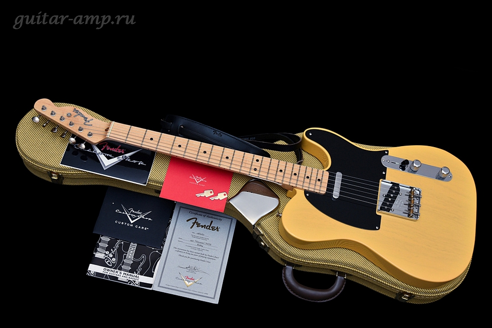 Fender Custom Shop 1951 Nocaster Butterscotch Blonde NOS Telecaster 2007, Made in USA