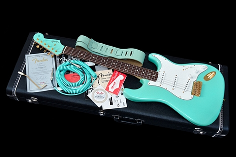 Fender Custom Shop 1960 Stratocaster Seafoam Matched Headstock Limited Edition 2010