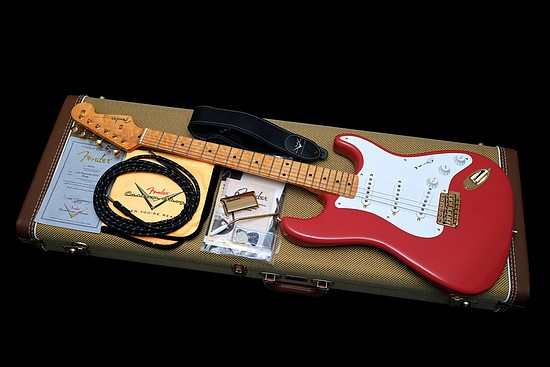 Fender Custom Shop Stratocaster 1956 Reissue Vintage Fiesta Red NOS 2015 New