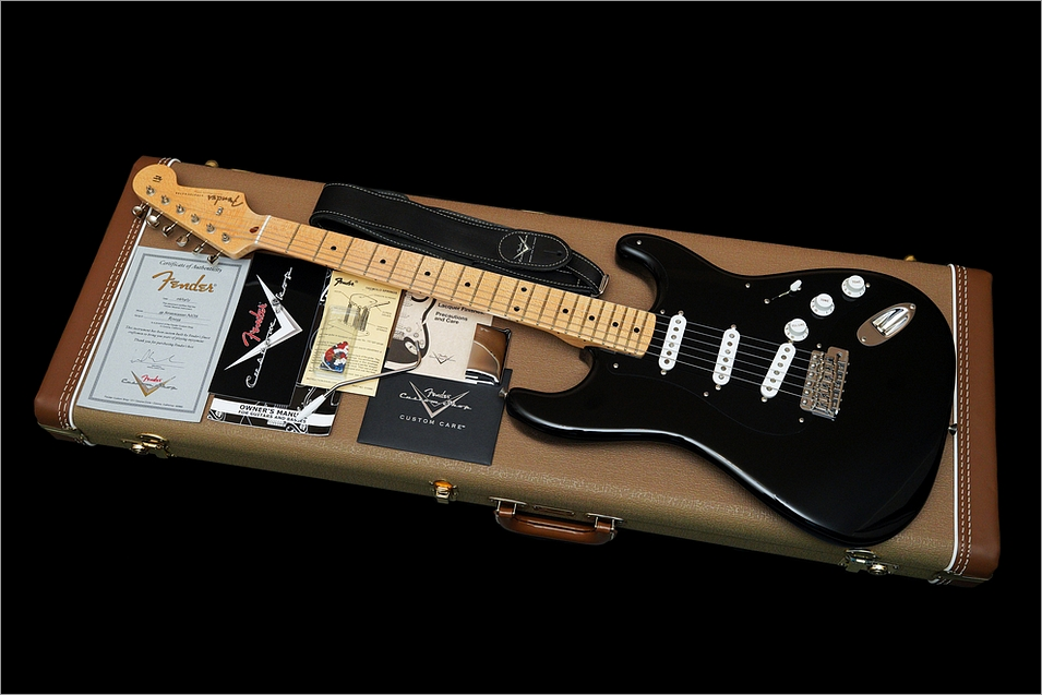 Fender Custom Shop Stratocaster Vintage Reissue 1959 Black NOS 2013