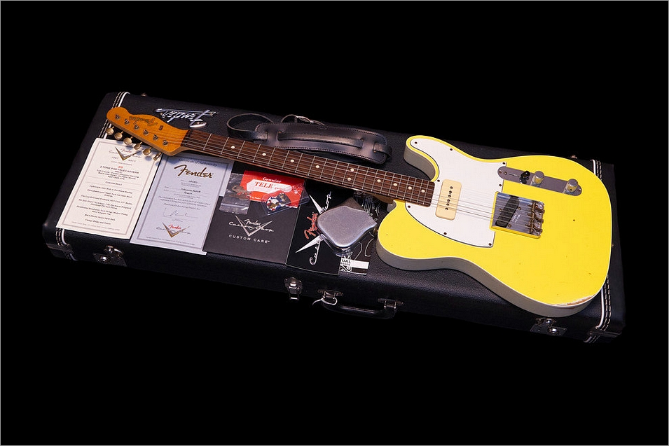 Fender Custom Shop Telecaster Relic Limited 30th Anniversary Edition Custom Built P-90 2013