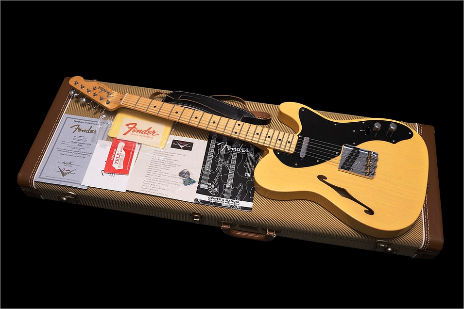 Fender Custom Shop Thinline '50s Reissue Telecaster Butterscotch Blonde 2006