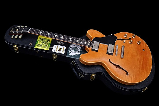 Gibson ES-335 Custom Shop 1963 Historic Reissue Flamed Top Limited Run 2015
