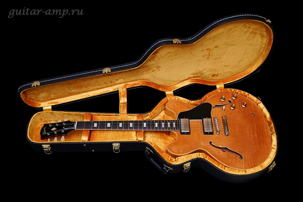 Gibson ES-335 TD Block Inlay Custom Shop 1963 Historic Reissue VOS Premium Flamed Top Limited Run 2015