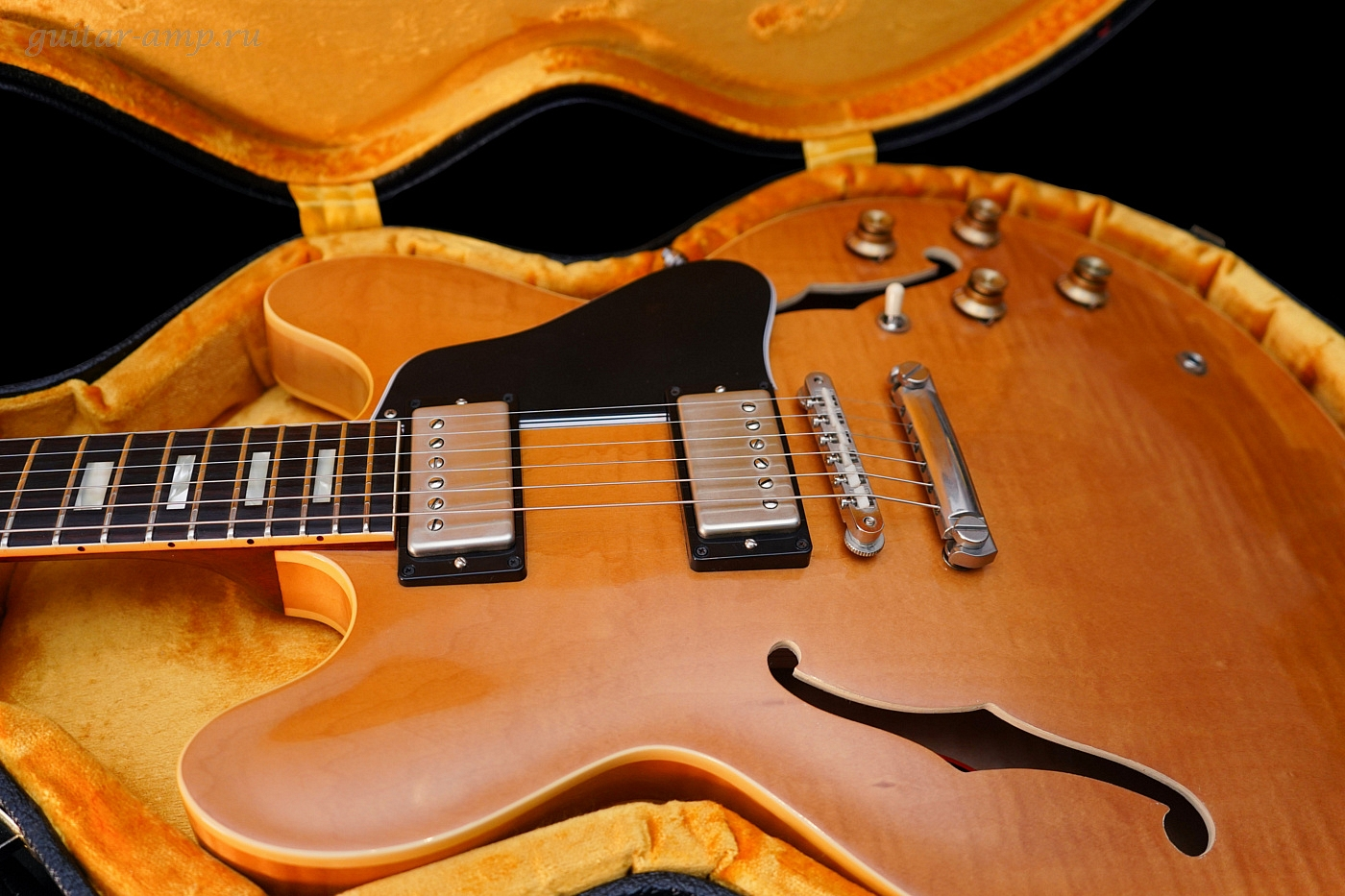 Gibson ES-335 TD Block Inlay Custom Shop 1963 Historic Reissue VOS Flamed Top Limited Run Rare 2015