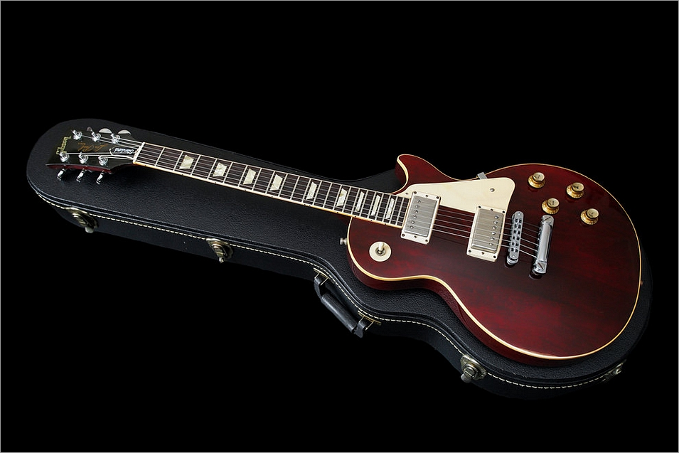 Gibson Les Paul Standard Wine Red Vintage 1977