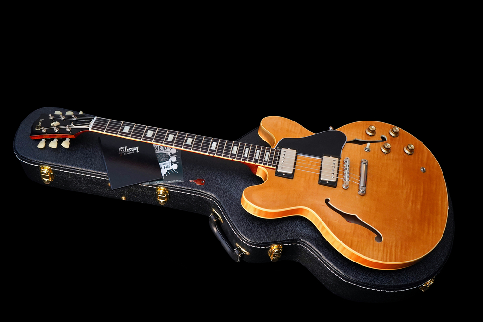 Gibson ES-335 Memphis 1963 Historic Reissue Flamed Top Limited Run 2015 001a