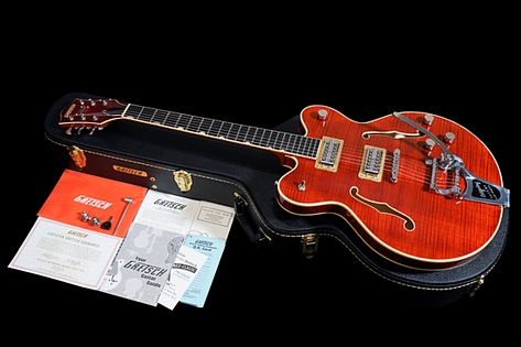 Gretsch G6609TFM Tiger Flame Players Edition Broadkaster 2017