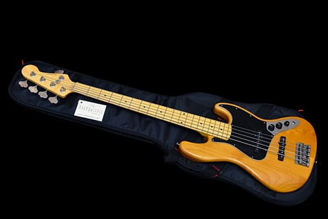 Nash JB-5 Jazz Bass Vintage Natural 2018 New