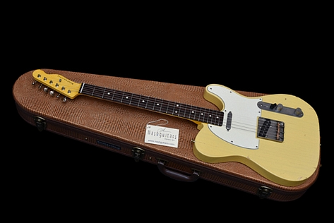 Nash T-63 Telecaster Vintage Cream 2017 New