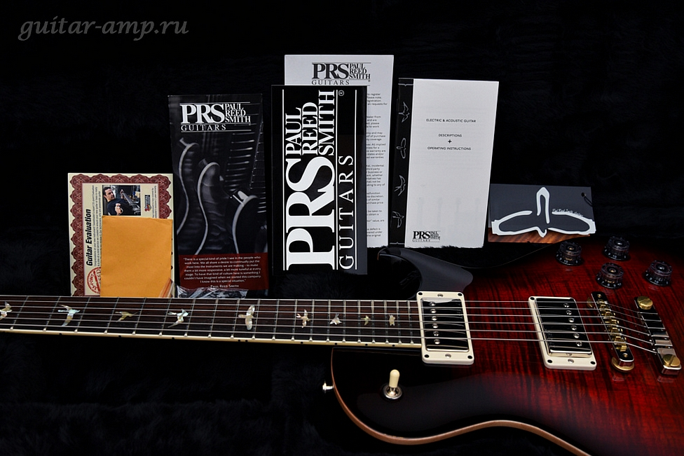 Paul Reed Smith/ PRS 594 SC McCarty Singlecut FireBurst Black 2016, Made in USA