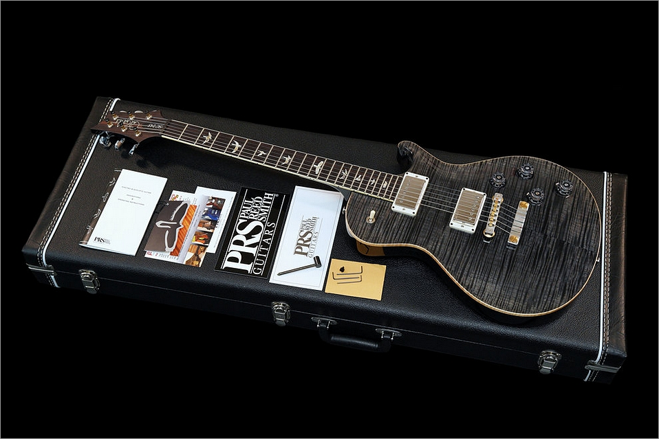 PRS SC245 Charcoal Grey Black 10 Top 2015