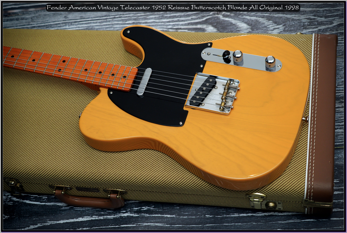 Fender American Vintage Telecaster 1952 Reissue Butterscotch Blonde All Original 1998 03_x1440.jpg