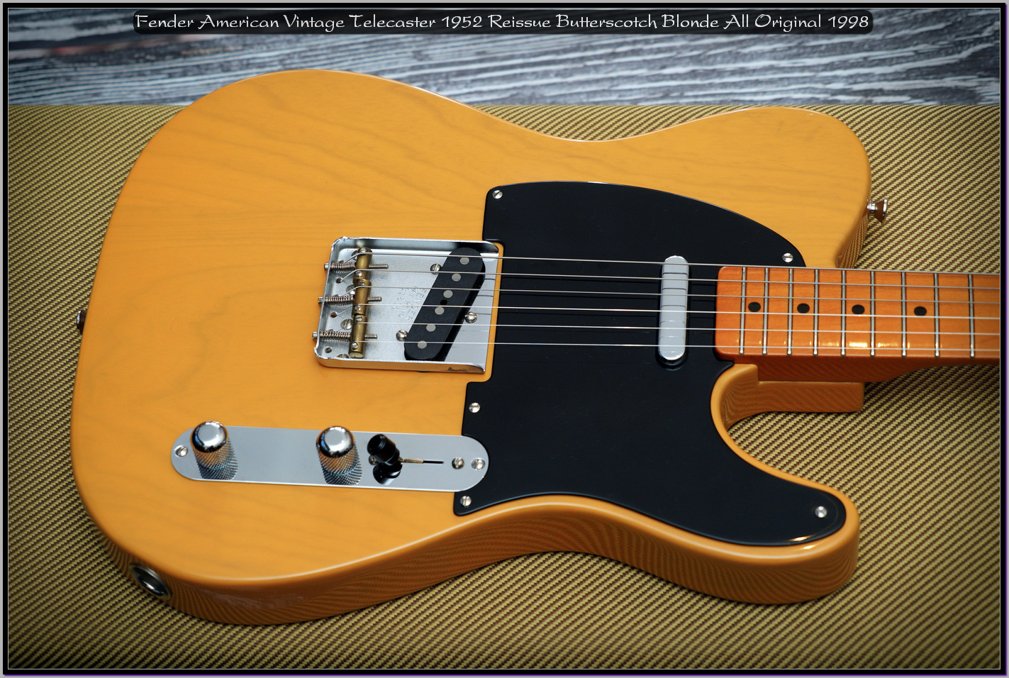Fender American Vintage Telecaster 1952 Reissue Butterscotch Blonde All Original 1998 04_x1440.jpg