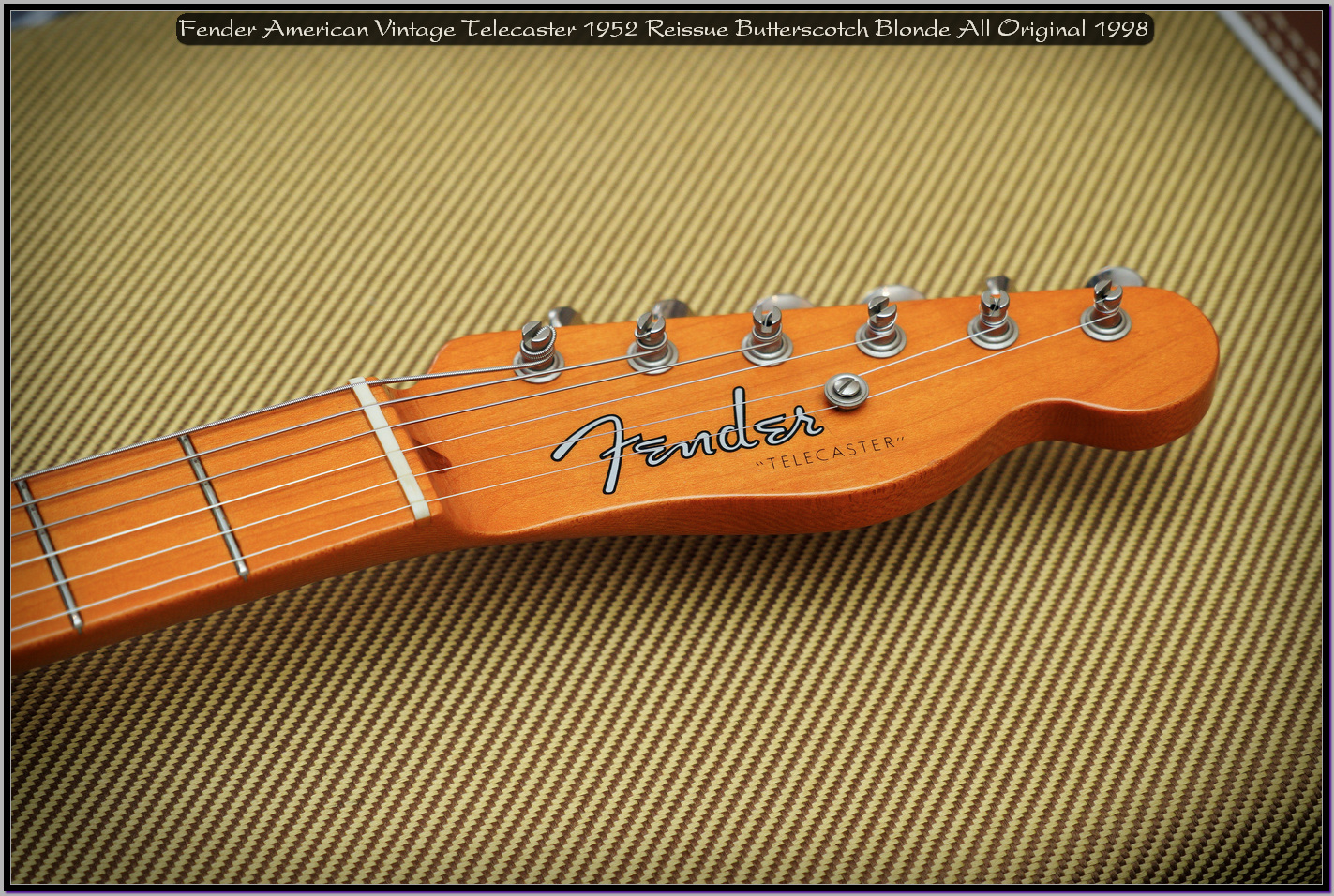 Fender American Vintage Telecaster 1952 Reissue Butterscotch Blonde All Original 1998 05_x1440.jpg
