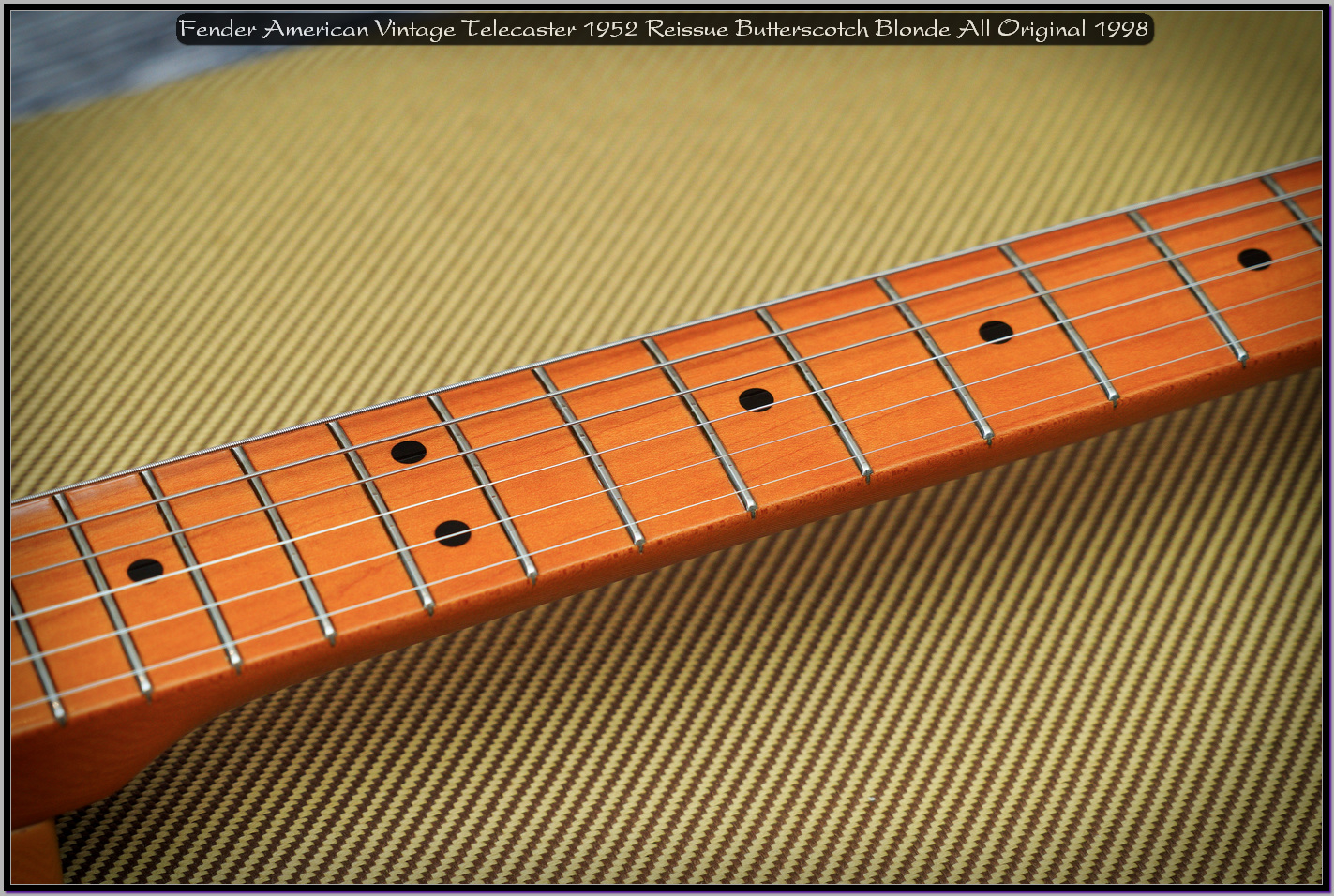 Fender American Vintage Telecaster 1952 Reissue Butterscotch Blonde All Original 1998 07_x1440.jpg