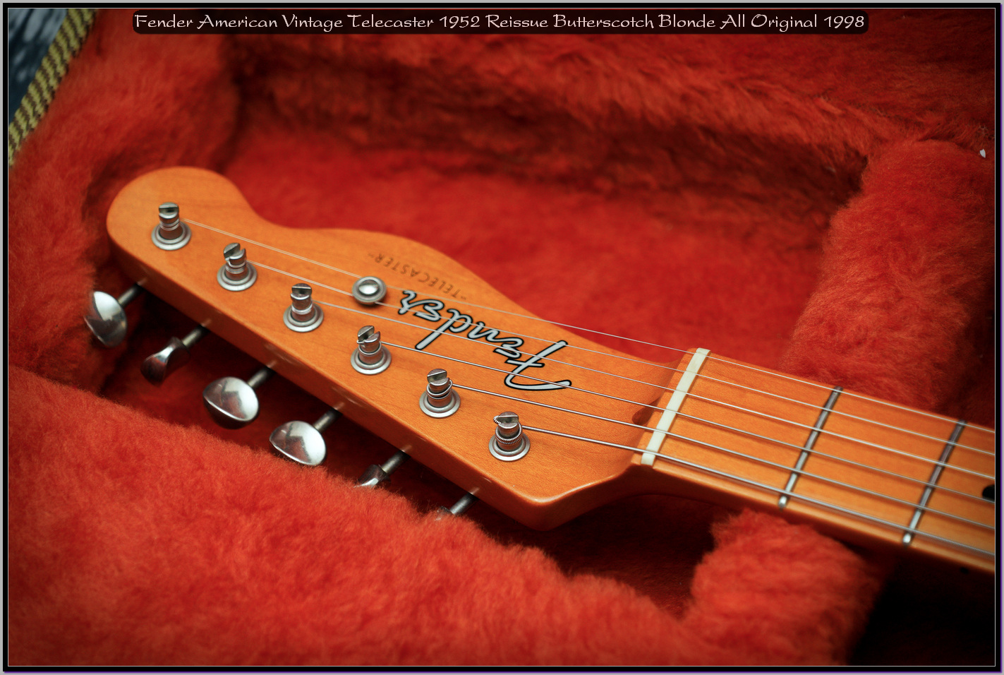 Fender American Vintage Telecaster 1952 Reissue Butterscotch Blonde All Original 1998 11_x1440.jpg