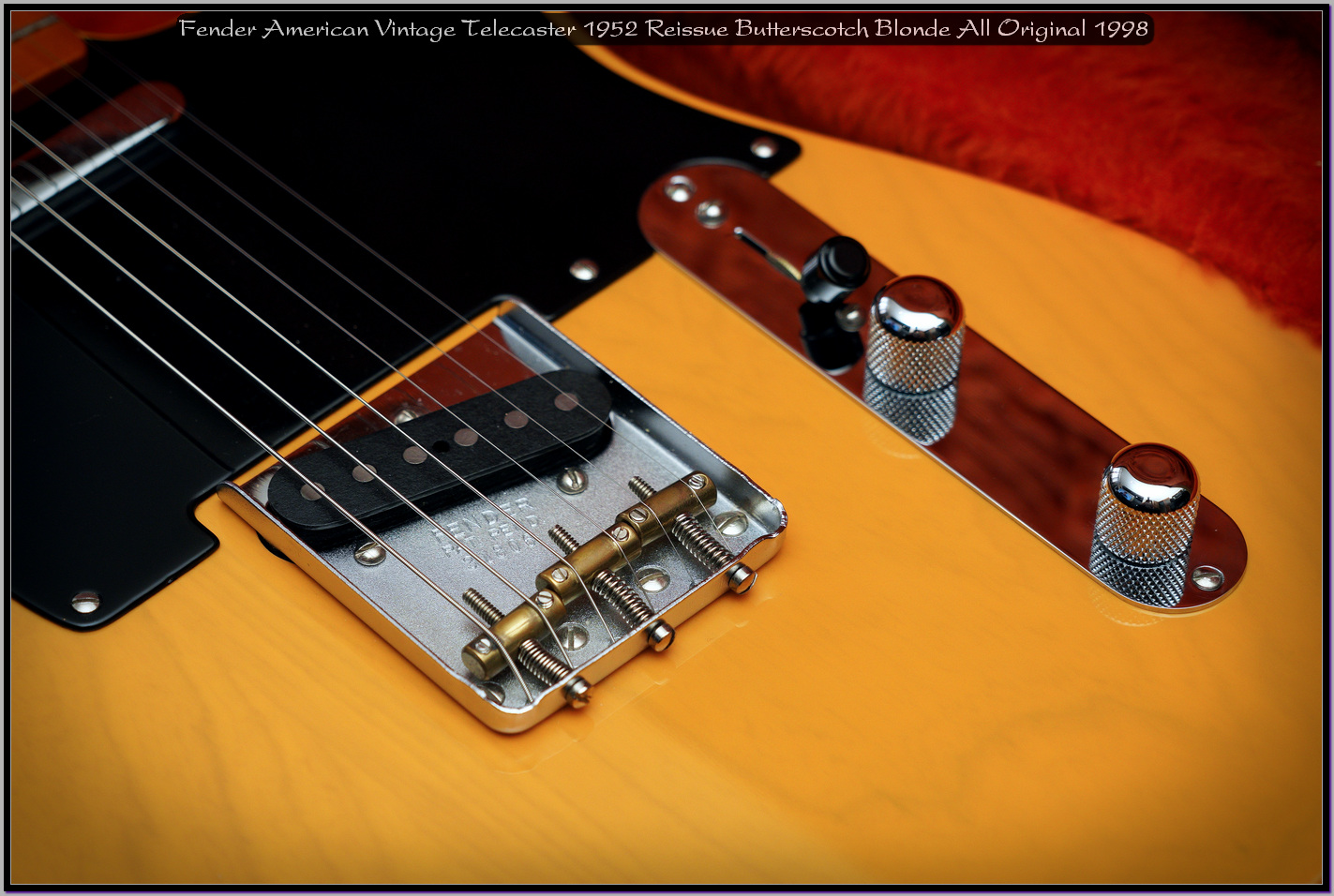 Fender American Vintage Telecaster 1952 Reissue Butterscotch Blonde All Original 1998 12_x1440.jpg