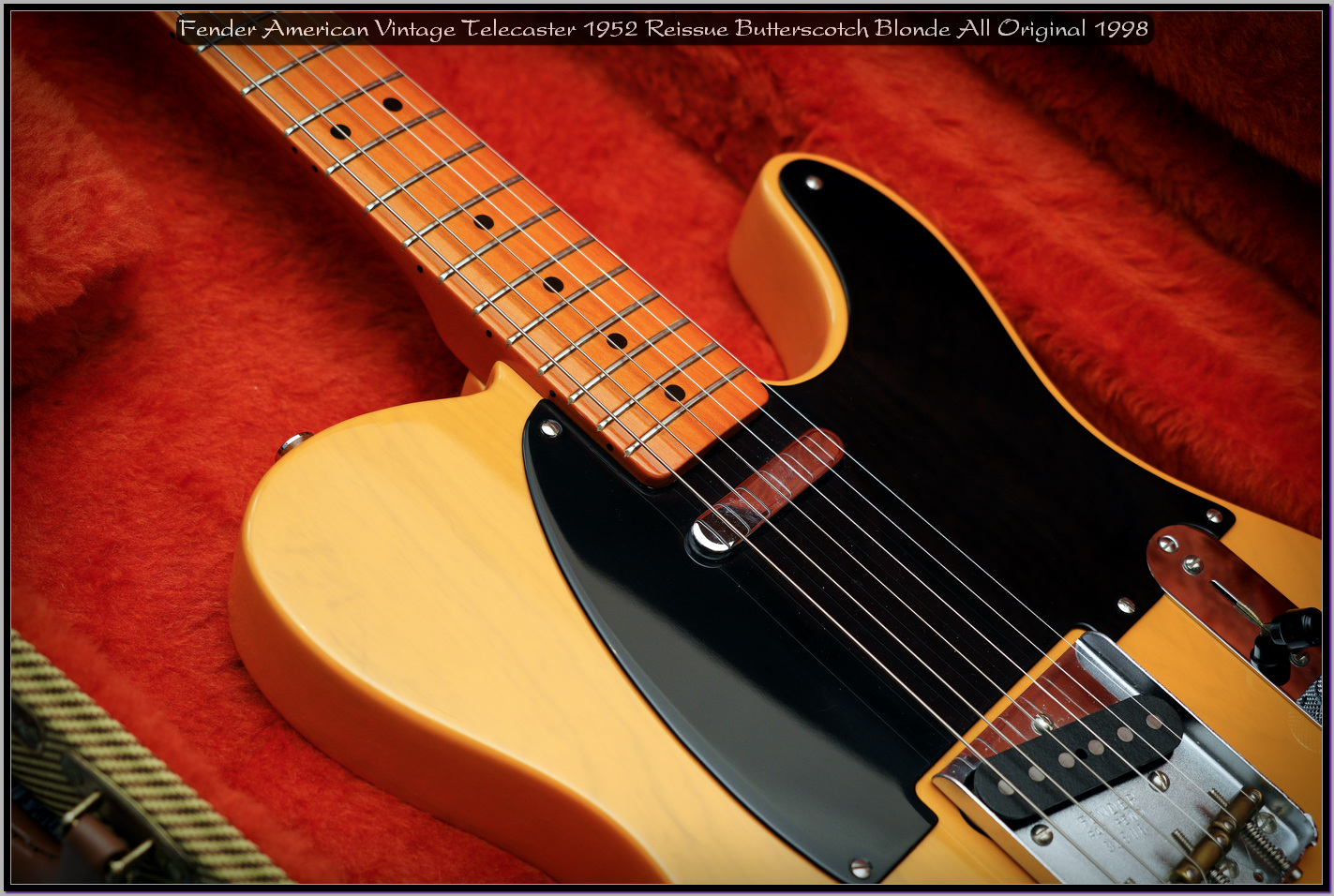 Fender American Vintage Telecaster 1952 Reissue Butterscotch Blonde All Original 1998 14_x1440.jpg