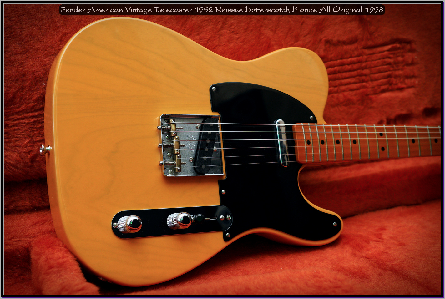 Fender American Vintage Telecaster 1952 Reissue Butterscotch Blonde All Original 1998 15_x1440.jpg