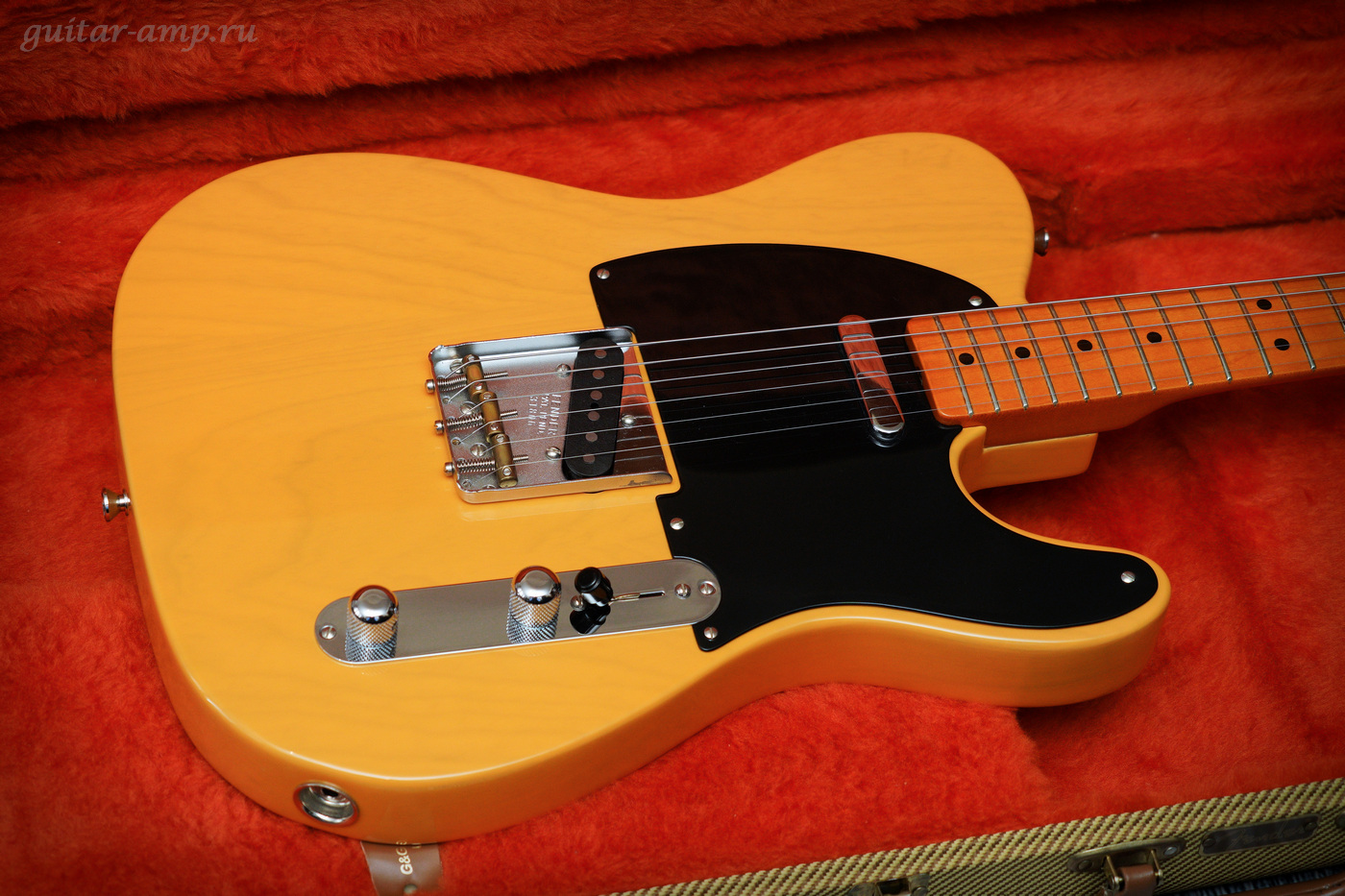 Fender American Vintage Telecaster 1952 Reissue Butterscotch Blonde All Original 1998 16_garx1400.jpg