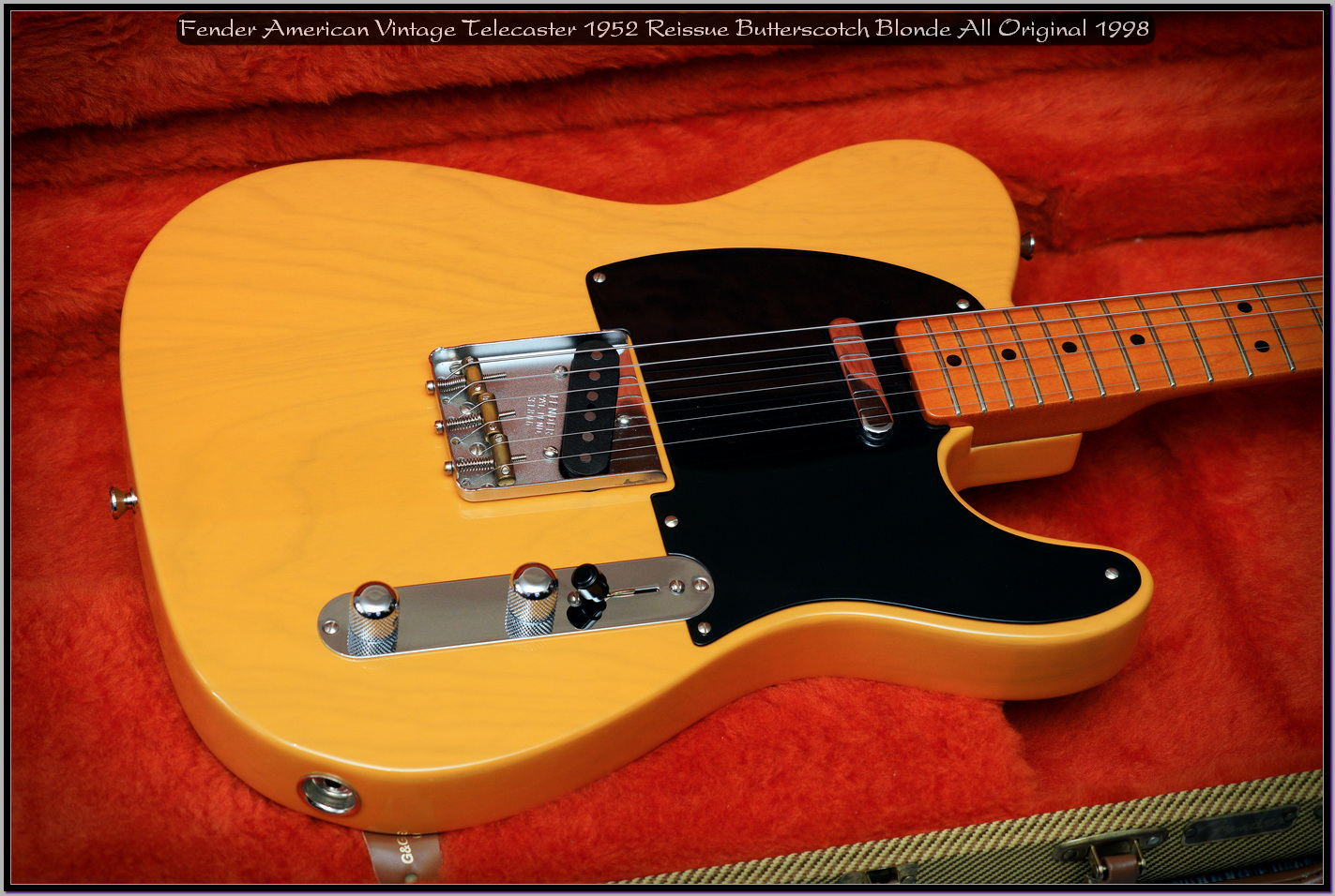 Fender American Vintage Telecaster 1952 Reissue Butterscotch Blonde All Original 1998 16_x1440.jpg