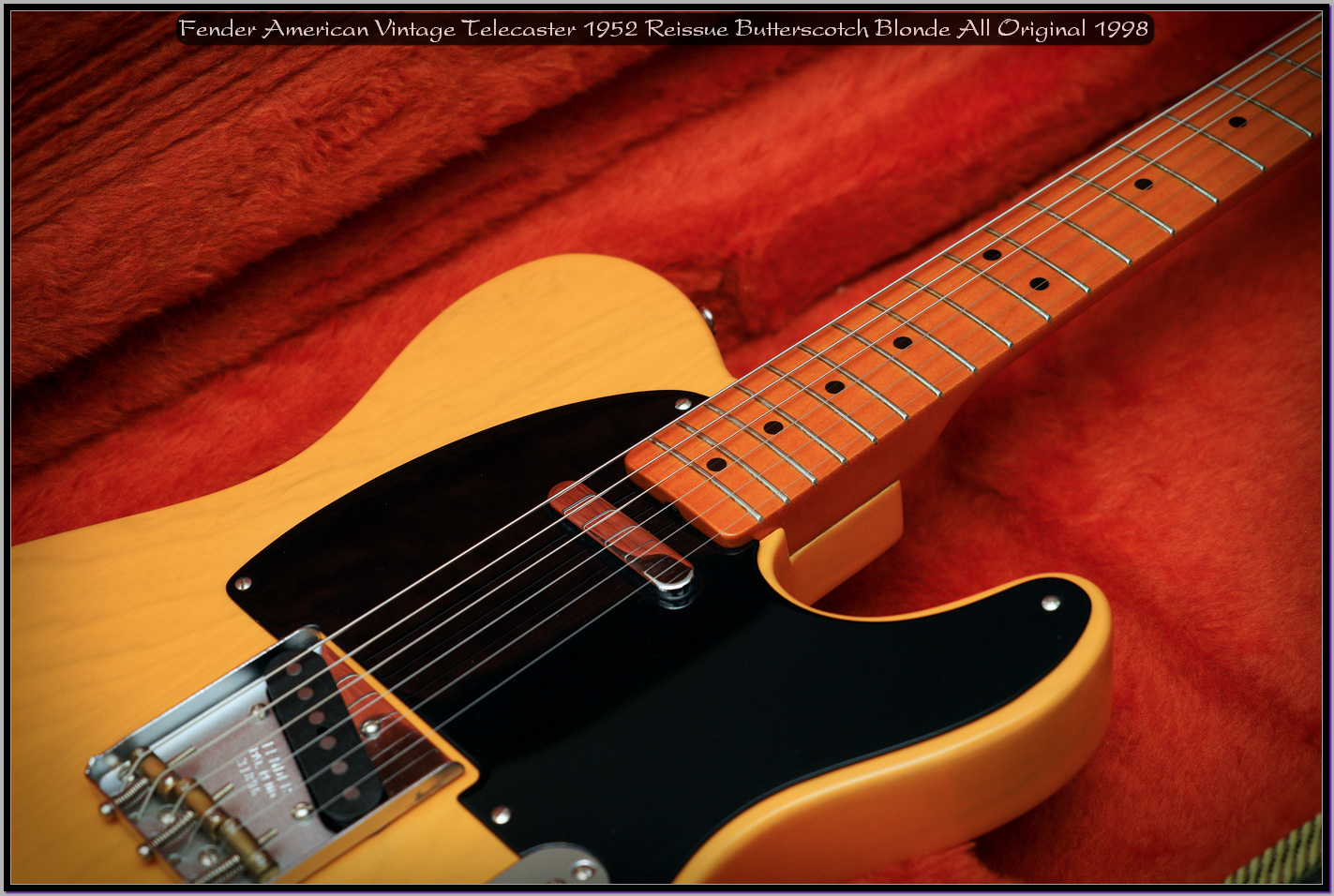 Fender American Vintage Telecaster 1952 Reissue Butterscotch Blonde All Original 1998 17_x1440.jpg