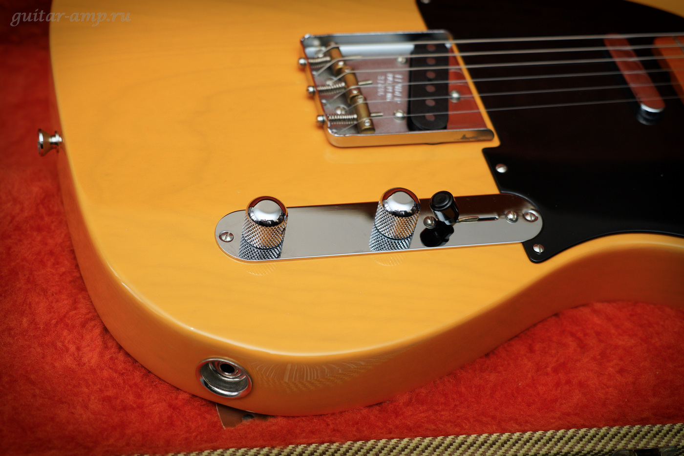 Fender American Vintage Telecaster 1952 Reissue Butterscotch Blonde All Original 1998 18_garx1400.jpg