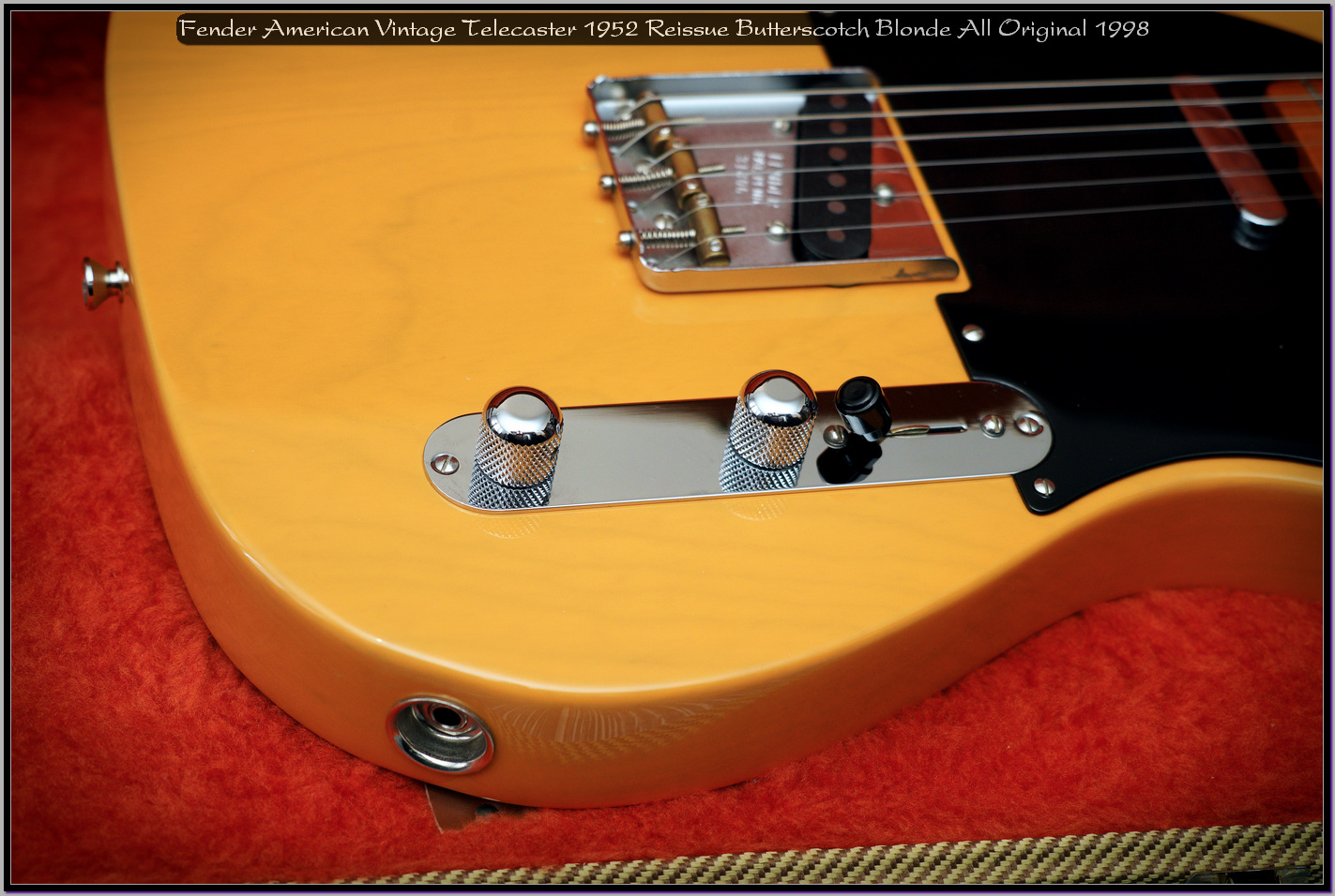Fender American Vintage Telecaster 1952 Reissue Butterscotch Blonde All Original 1998 18_x1440.jpg